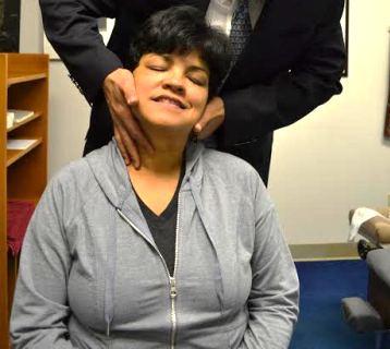 Dr. Rick neck adjustment 2