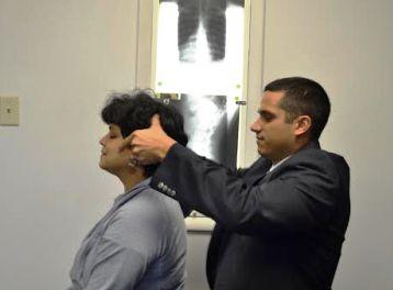 Dr. Rick neck adjustment